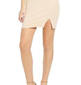 Leith Leith Ribbed Miniskirt Sz XXS