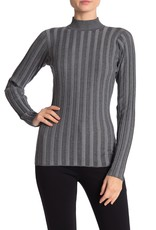 Love Token PM Love Token Mock Neck Ribbed Knit Sweater #308F,#309F