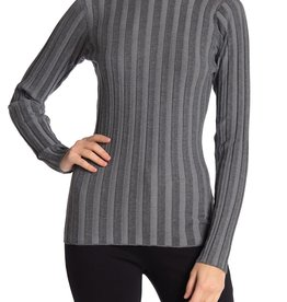 Love Token Love Token Mock Neck Ribbed Knit Sweater #308F,#309F