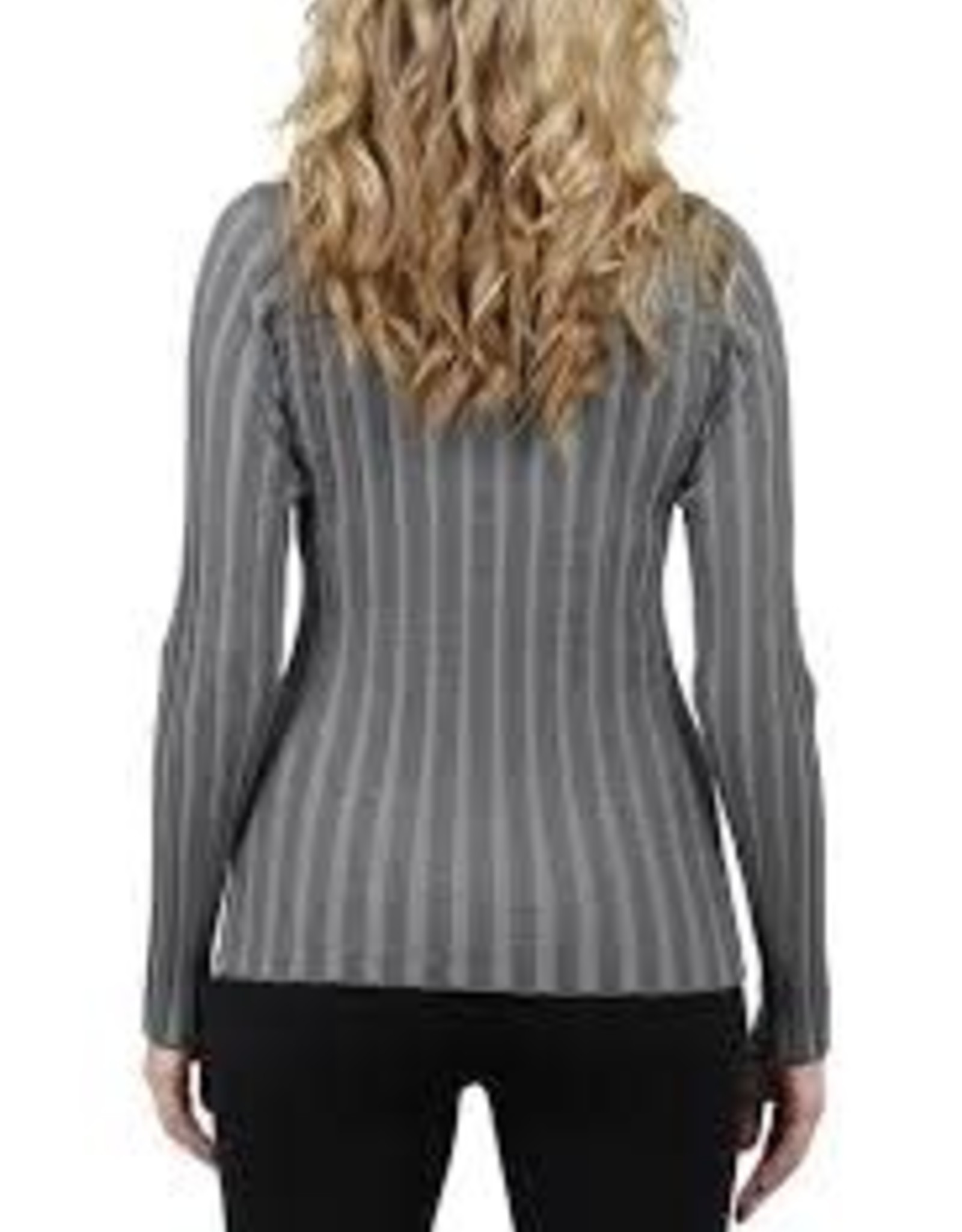 Love Token Love Token Mock Neck Ribbed Knit Sweater #308F,#309F