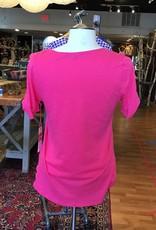 Gibson Gibson Anna Maria Twist Sleeve Shirt Sz XS