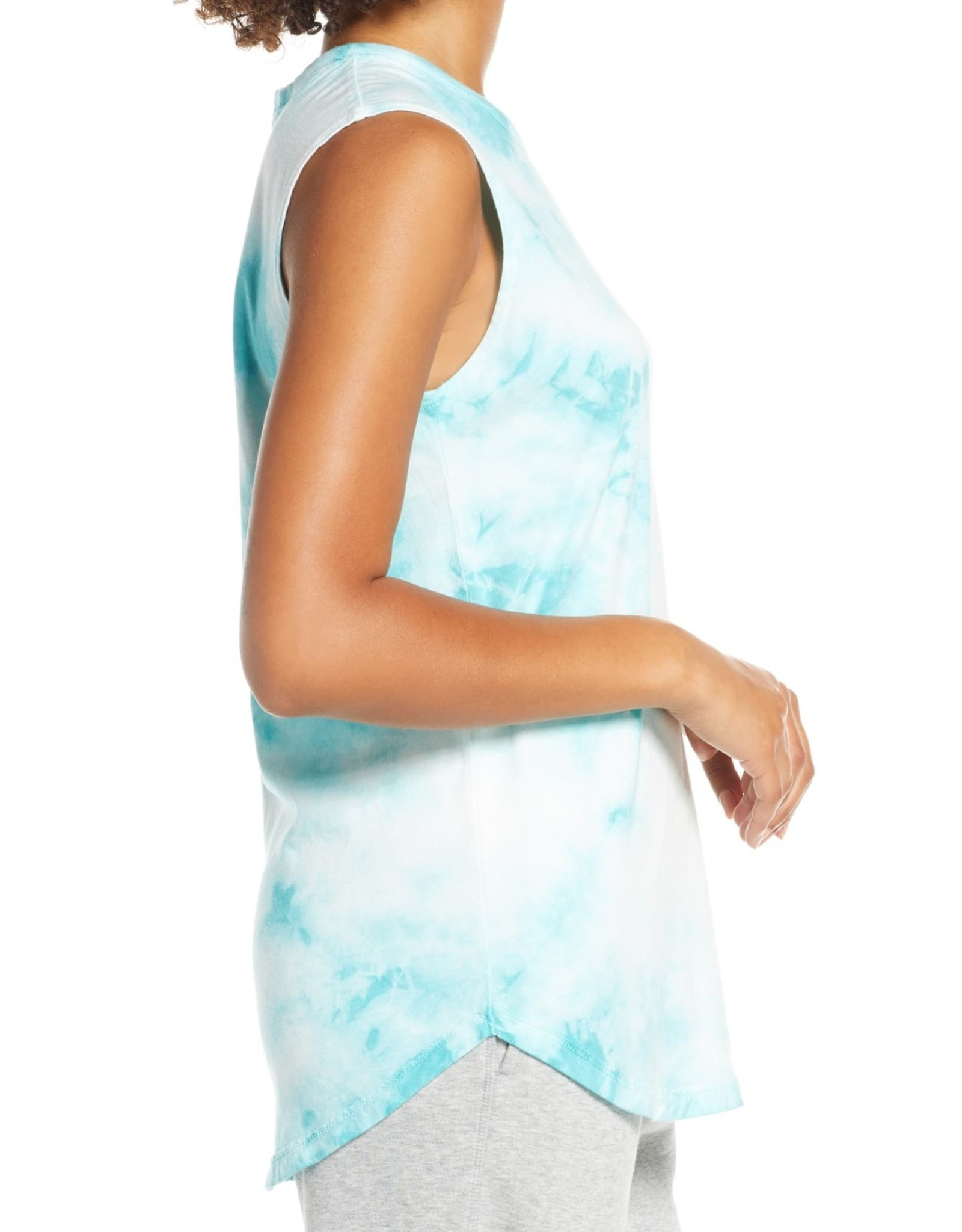 Alternative Alternative Tie Dye Muscle Tee Sz L