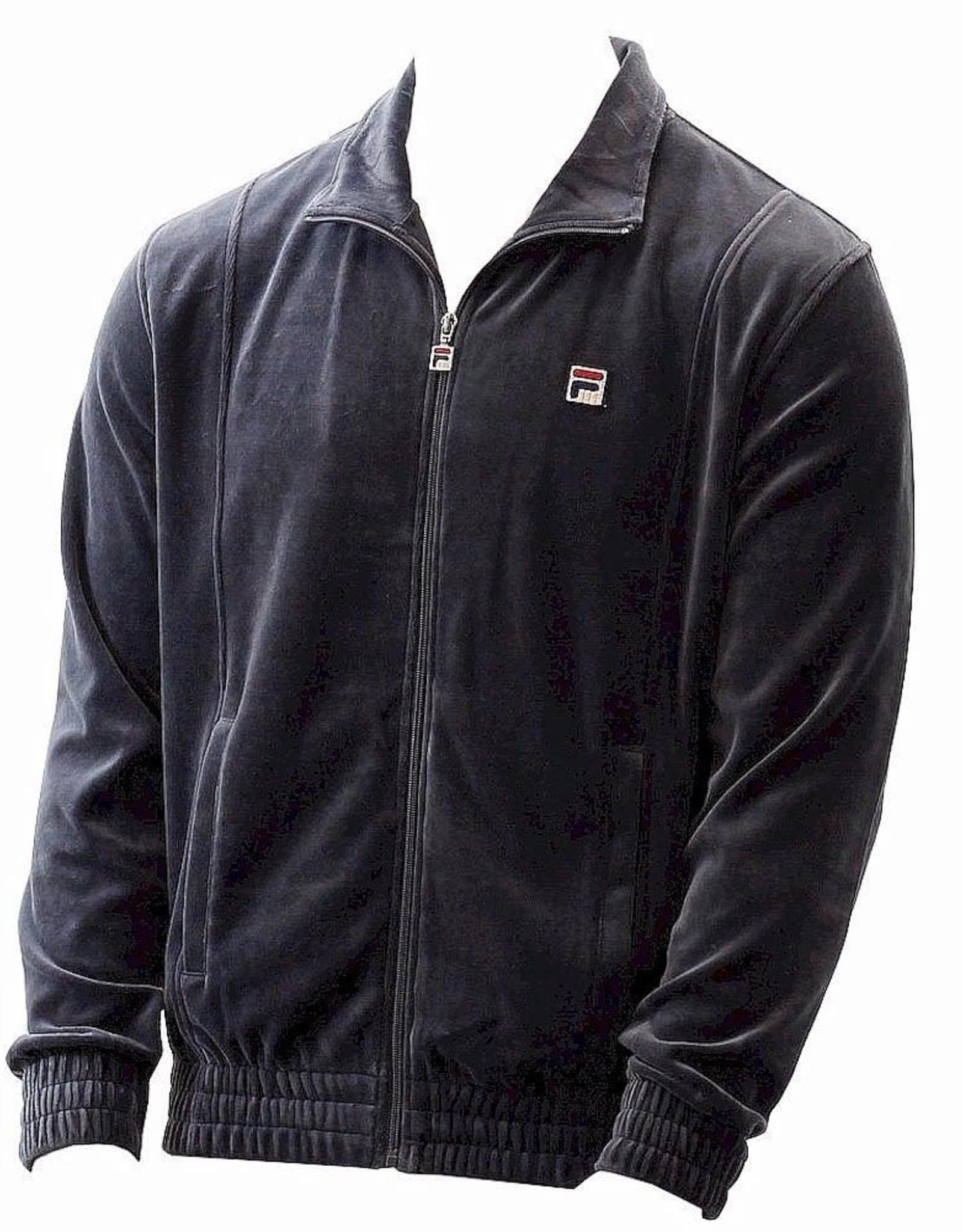 Fila Fila Mens Zip Velour Jacket Sz L