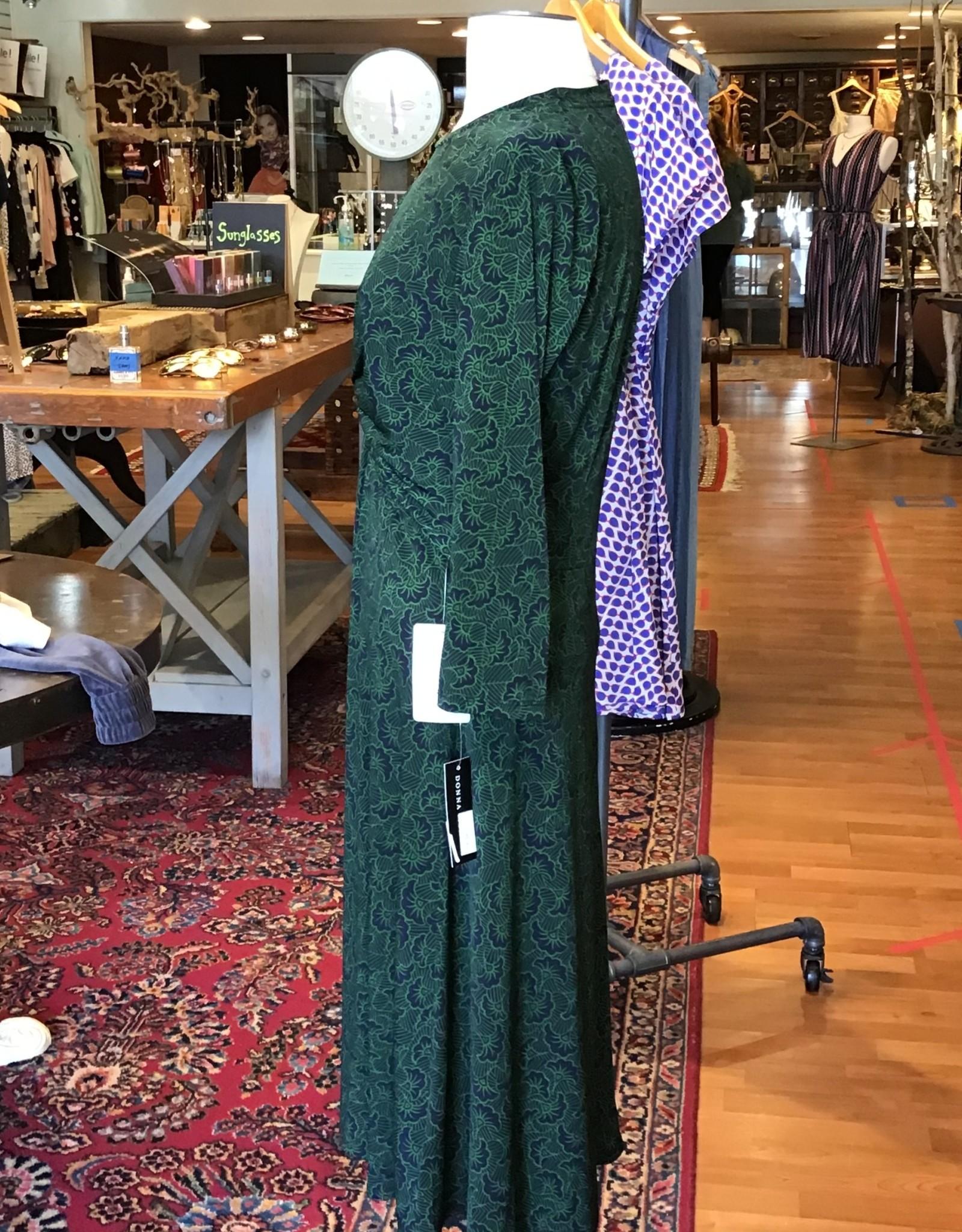 Donna Morgan Donna Morgan 3/4 Sleeve Twist Front Geometric Print Dress Sz 8P