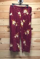 ModCloth ModCloth Floral Print Crop Pants Sz 14