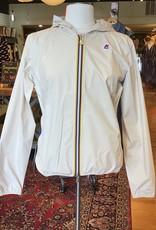 K-Way K-Way Front Zip Hooded Jacket Sz 7