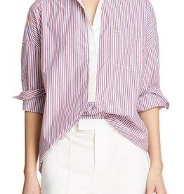 Alex Mills Alex Mill Multistripe Shirttail Tunic Sz S