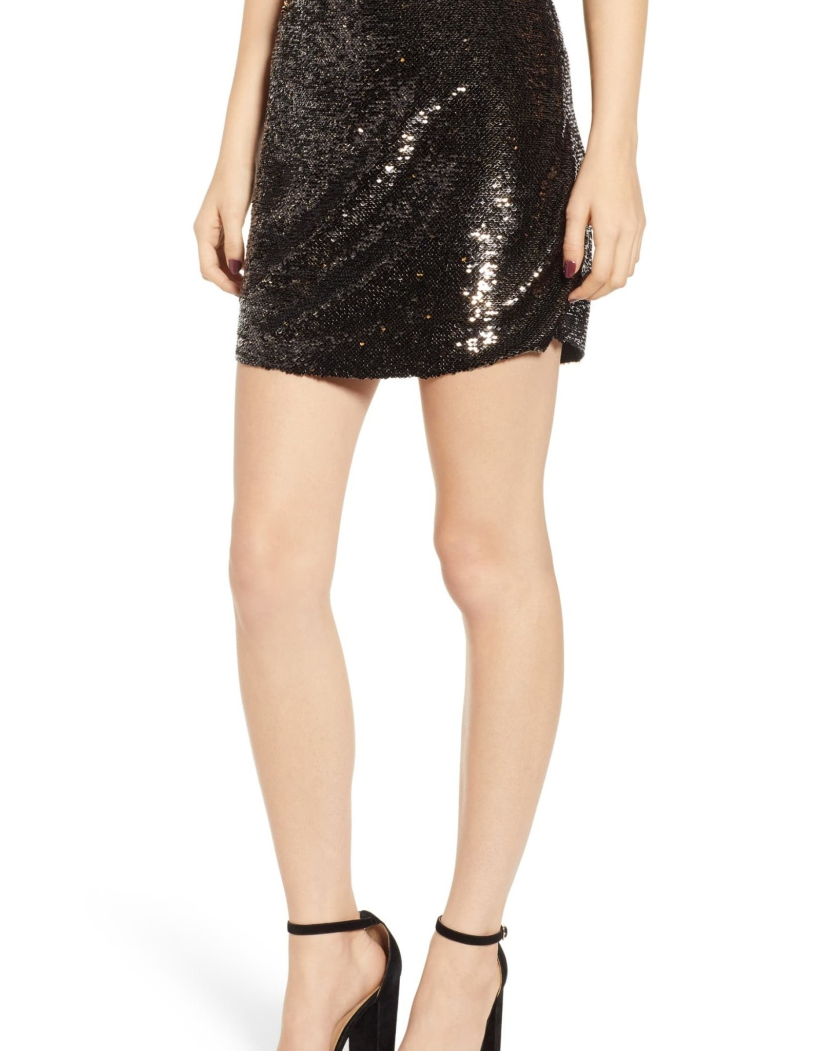 Bishop + Young Bishop + Young Sequin Miniskirt Sz XS