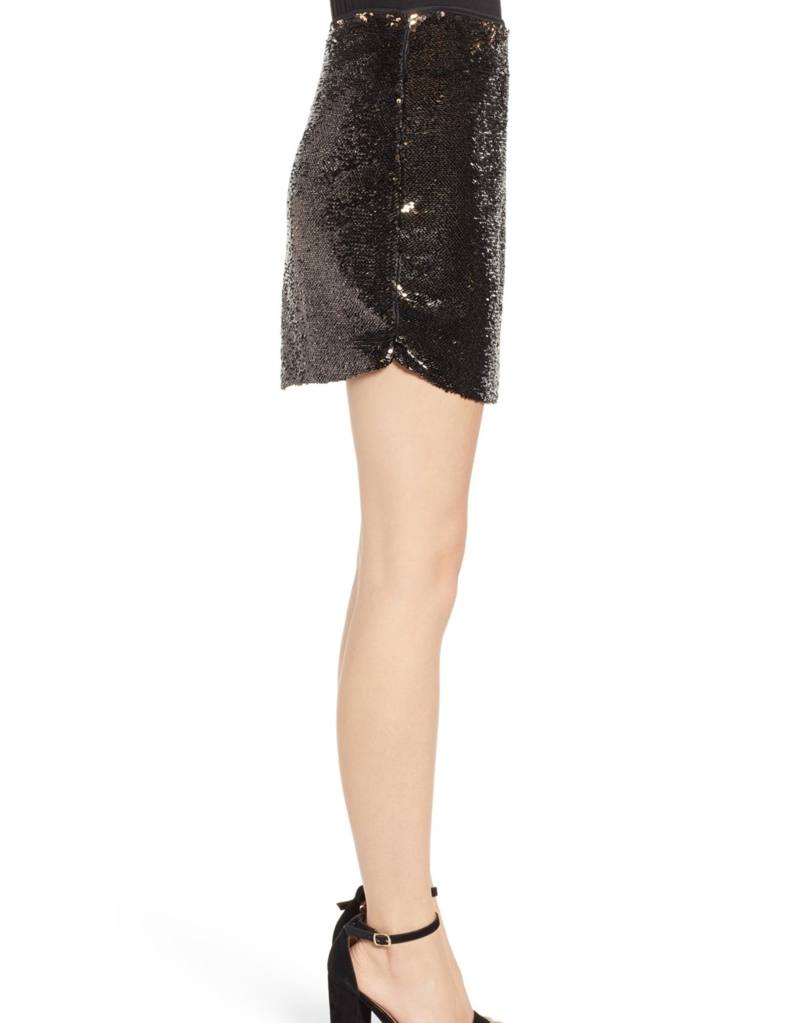 Bishop + Young Bishop + Young Sequin Miniskirt Sz XS