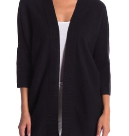 Halogen Halogen 3/4 Sleeve Cashmere Cardigan One Size