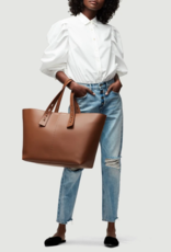 Frame Frame Les Second Large Tote in Tobacco