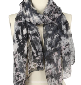 LIB Abstract Print Oblong Scarf