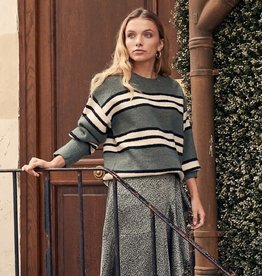 FRNCH NISSIA Striped Sweater