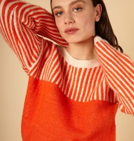 FRNCH NIMA Striped Sweater