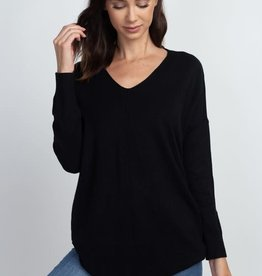 Dreamers by Debut Super Soft V Neck Sweater