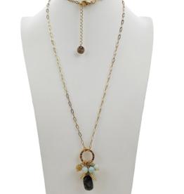 Sweet Lola Amazonite Gemstone Necklace