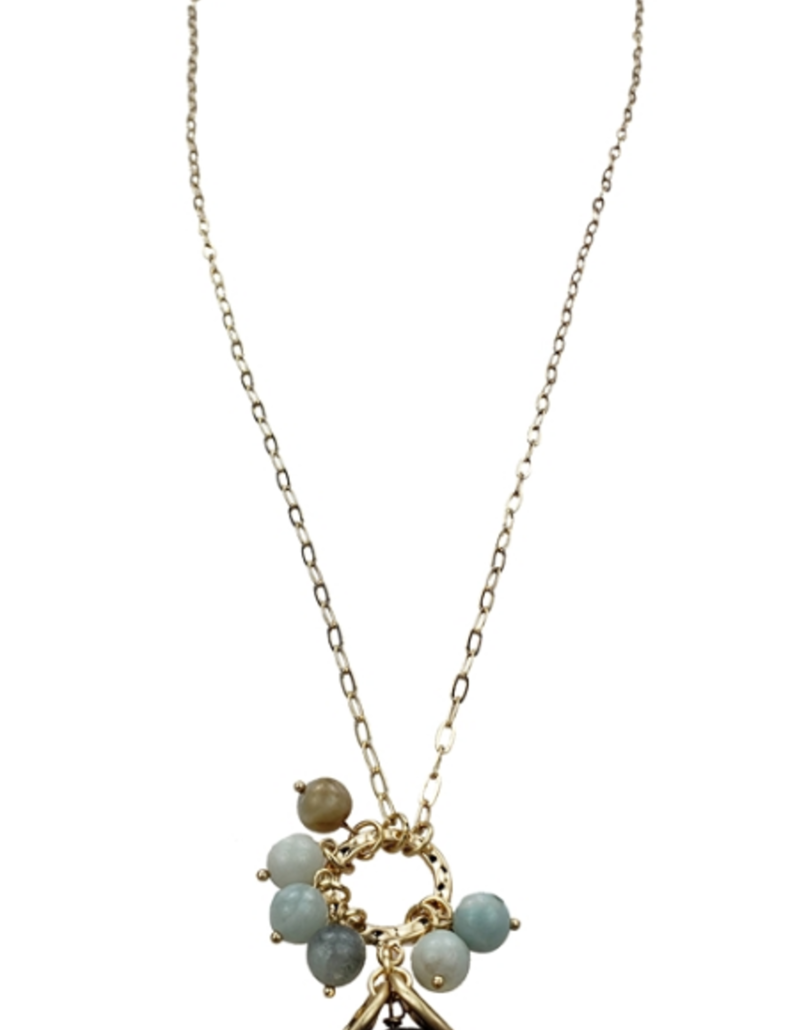 Sweet Lola Amazonite Gemstone Necklace