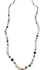 Sweet Lola Gemstone Beaded Necklace