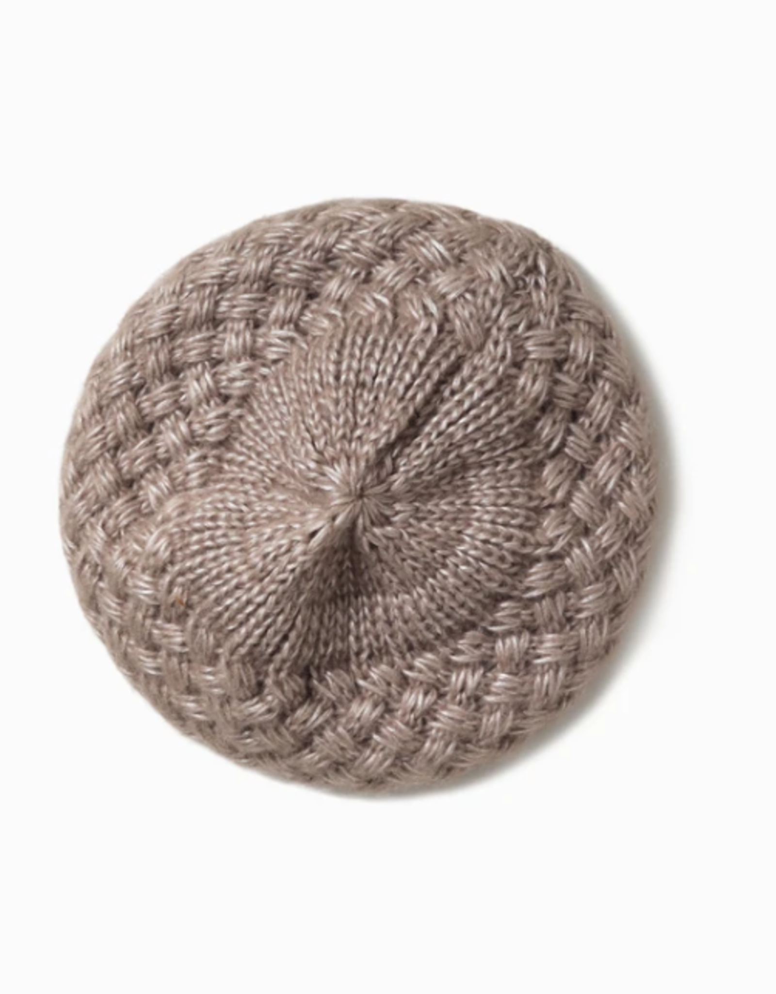 Look By M Shiny Woven Beret