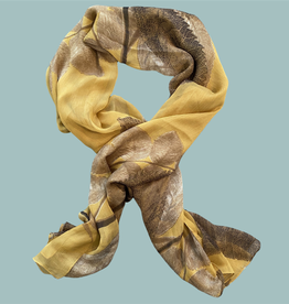Sweet Lola Mustard with Taupe Leaves