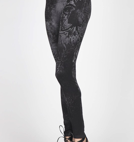 M Rena Midnight Mosaic Leggings One Size