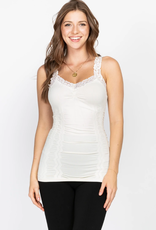 M Rena Seamless Cami with Lace