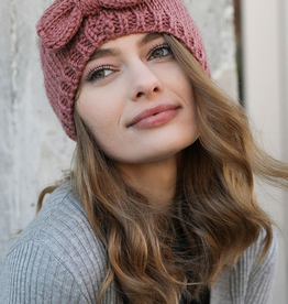J Marcel Knit Headband with Bow