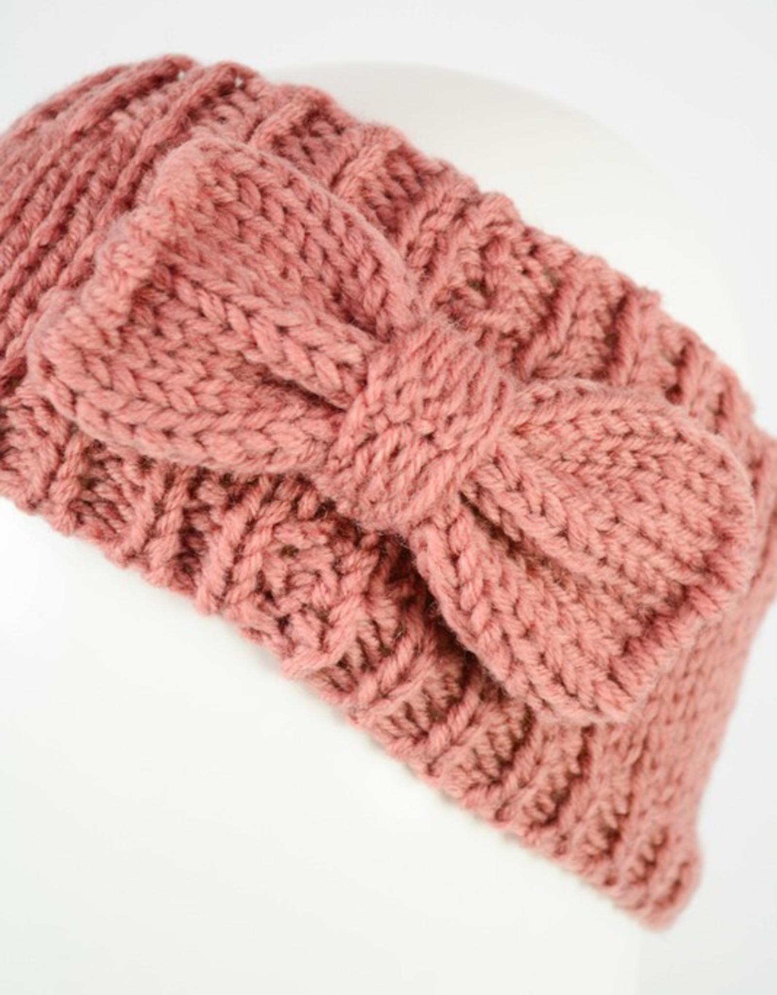 J Marcel Knit Headband with Bow