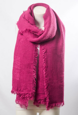 J Marcel Grid Textured Blanket Scarf