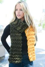 J Marcel Oversized Multicolor Pop Knit Scarf