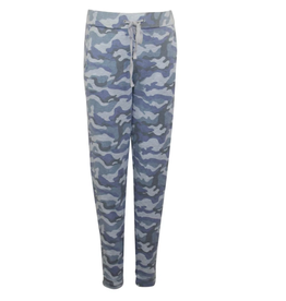 Bobi Camo Casual Pants