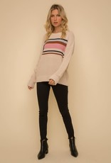 Hem & Thread Boyfriend Stripe Sweater
