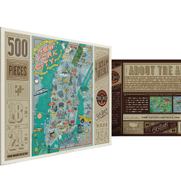True South Puzzle True South Puzzle NYC Illustrated