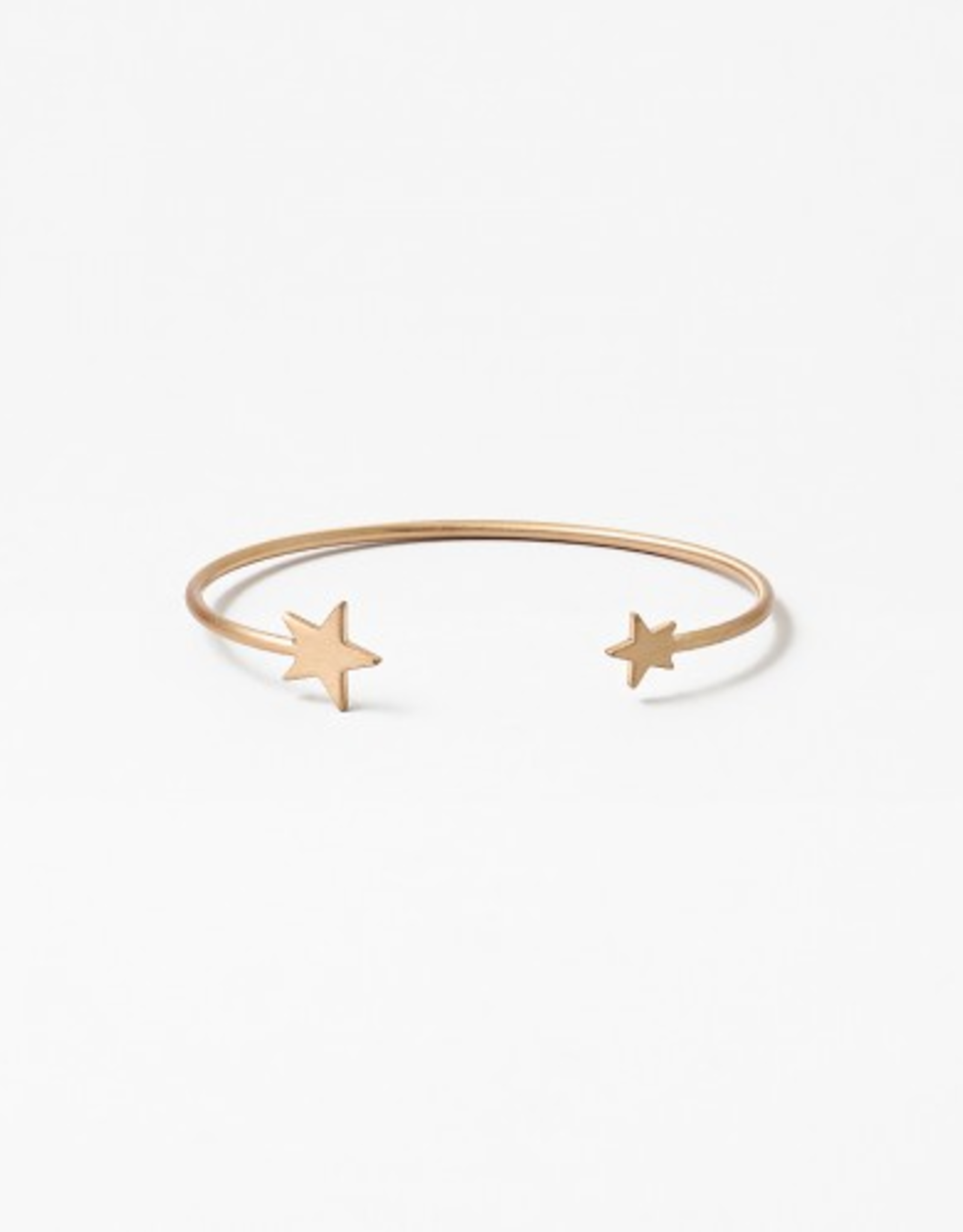 Blue Suede Jewels Star Cuff Bracelet