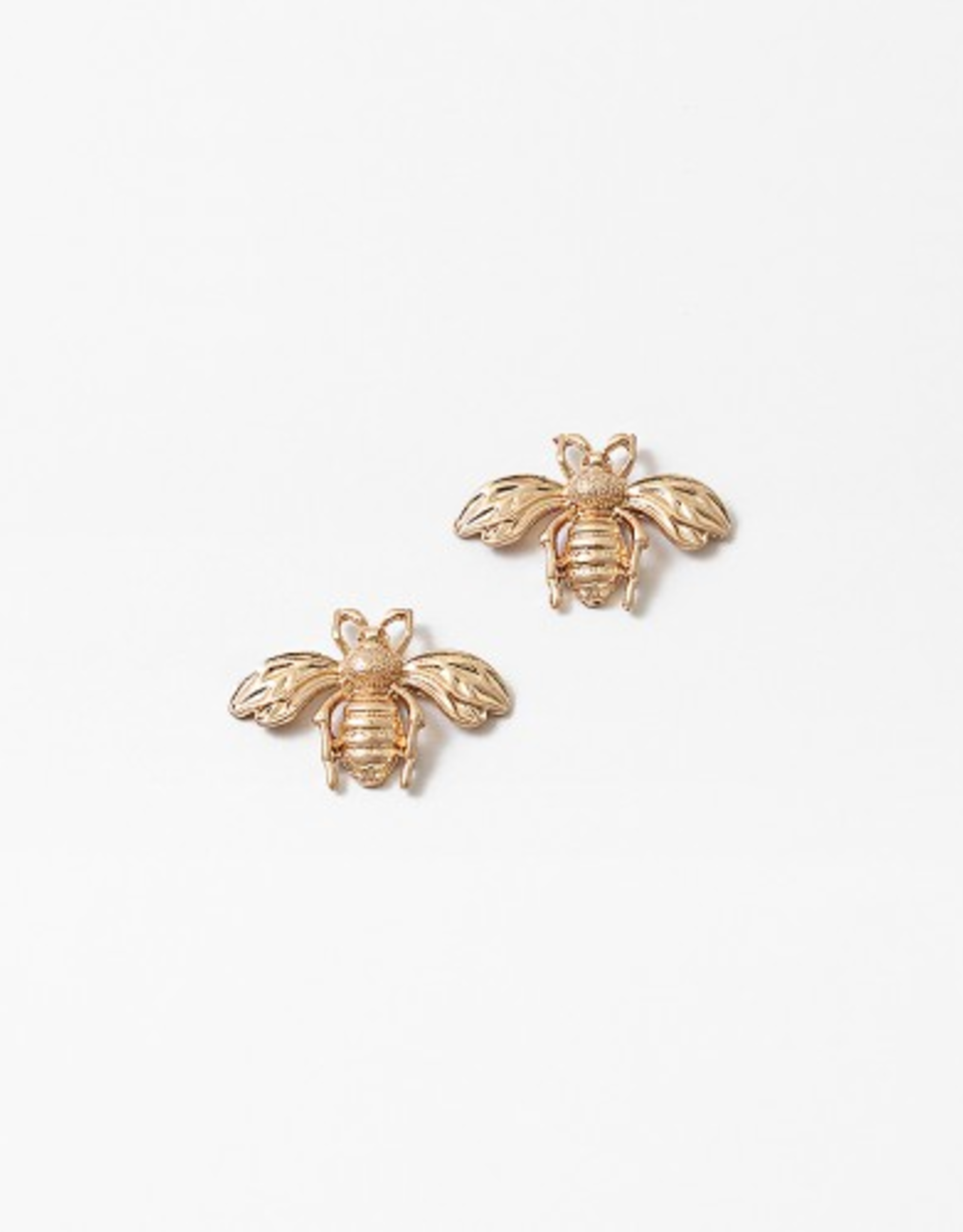 Blue Suede Jewels Bee Stud Earring