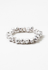 Blue Suede Jewels Nugget Stretch Bracelet