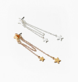 Blue Suede Jewels Celestial Dangle Earrings