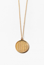 Blue Suede Jewels Love Pendant Necklace