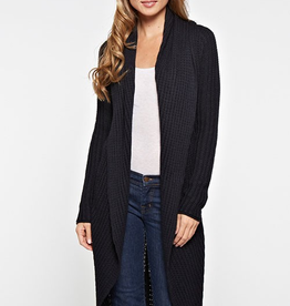 Love Stitch 2 Way Cashmere Blend Duster Cardigan