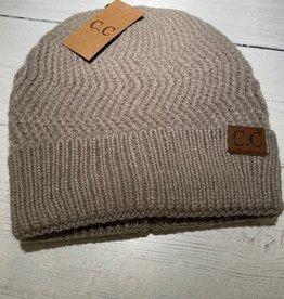 CC Chevron Knit Beanie