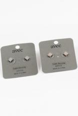 Blue Suede Jewels Star Crystal Stud Earring