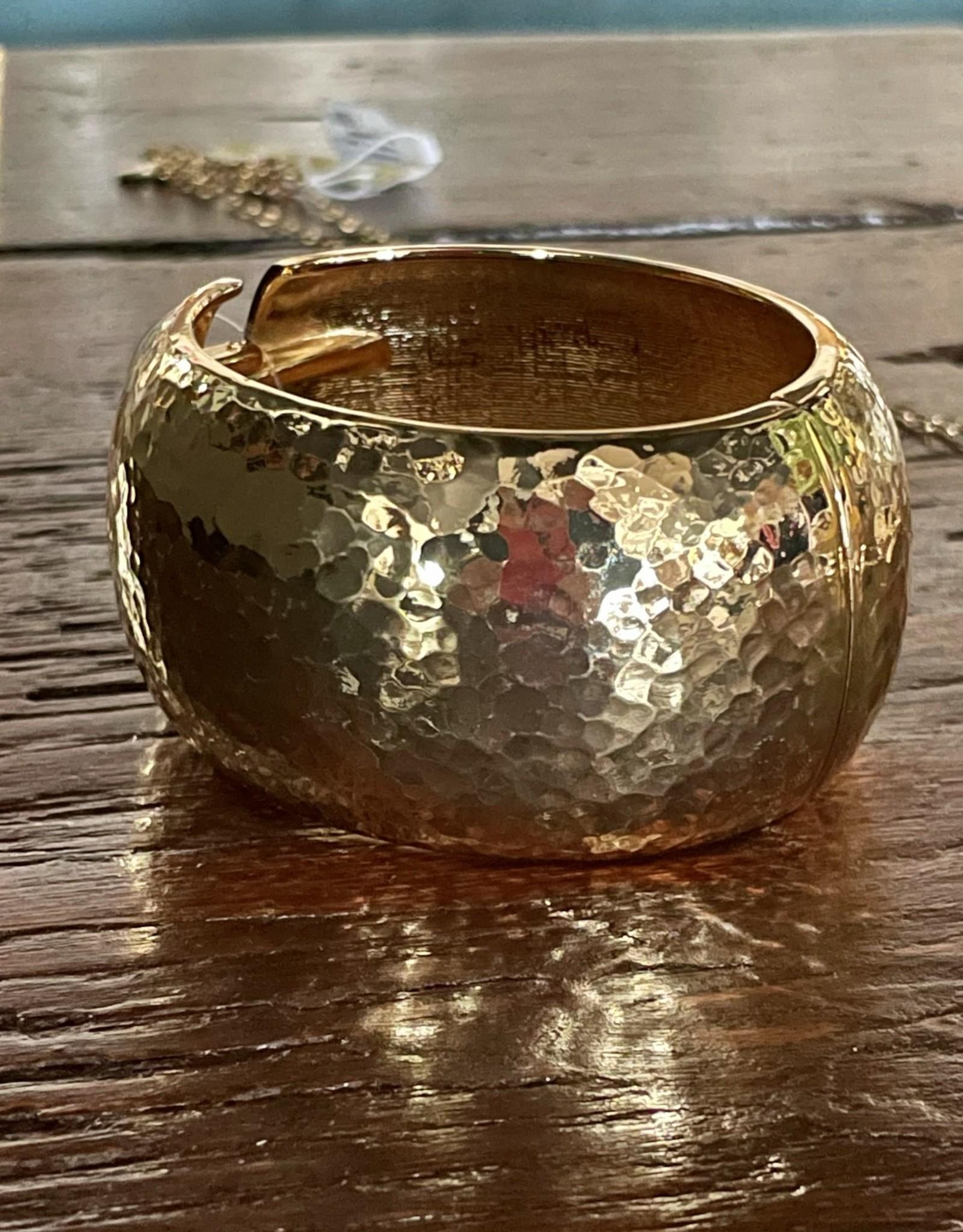 Blue Suede Jewels Cuff Bracelet