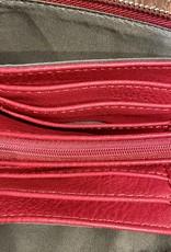 Blue Suede Convertible Bag