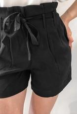 Molly Bracken Hi Waist Tie Front Shorts