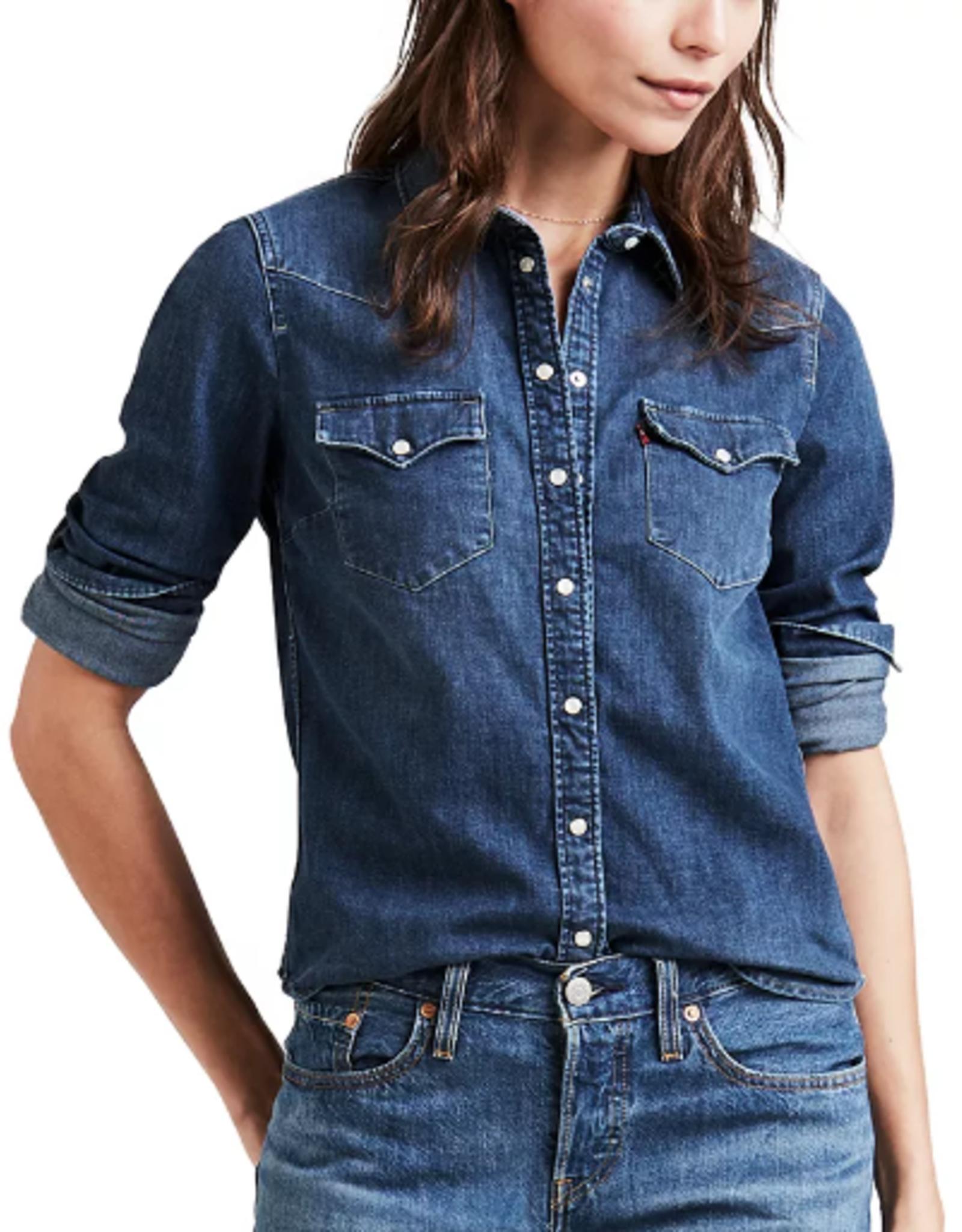 Levi's Ultimate Denim Button Down Shirt in Lotta Love