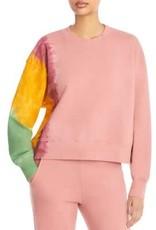 Velvet Tie Dye Sweatshirt