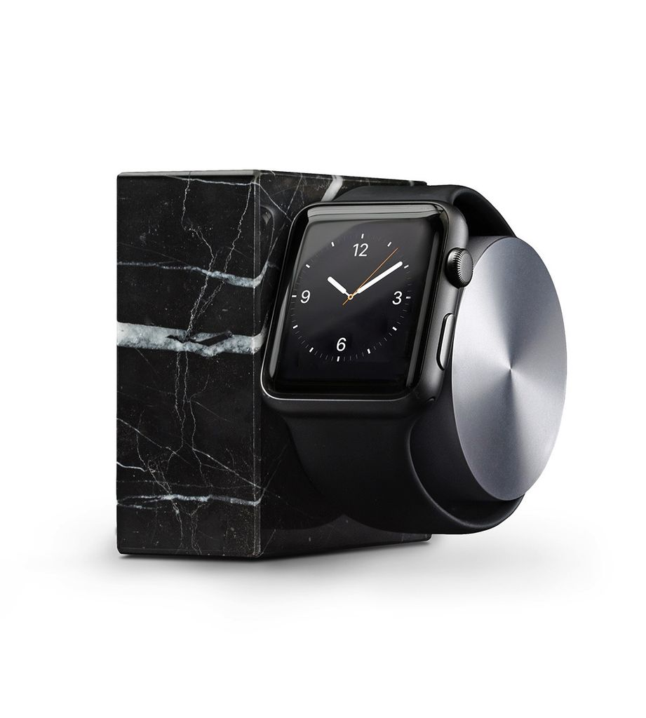 Native Union Native Union Apple Watch Dock - Marble, Black