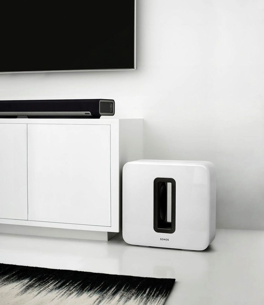 Sonos SONOS SUB: Soul-shaking sound. Heart-pounding design. One-button setup.