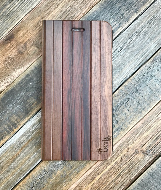 Bark Accessories Bark Accessories Aphotic Wood Book for iPhone 7