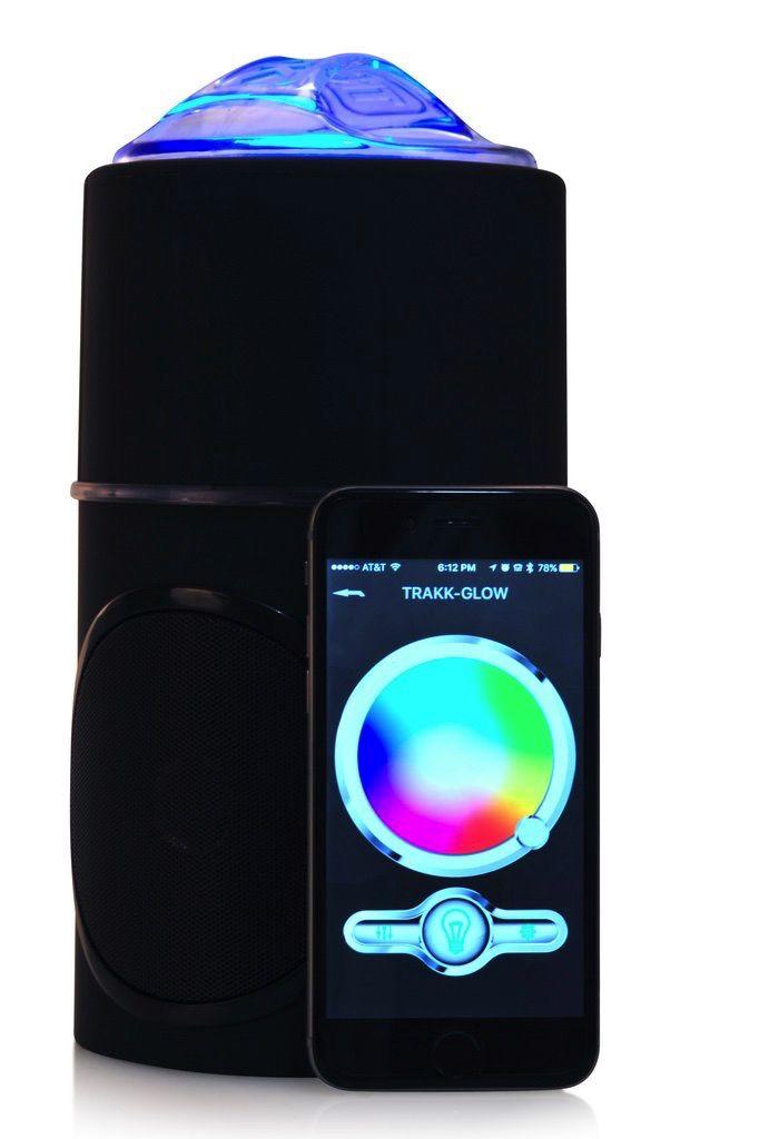 TRAKK TRAKK GLOW Bluetooth LED Speaker